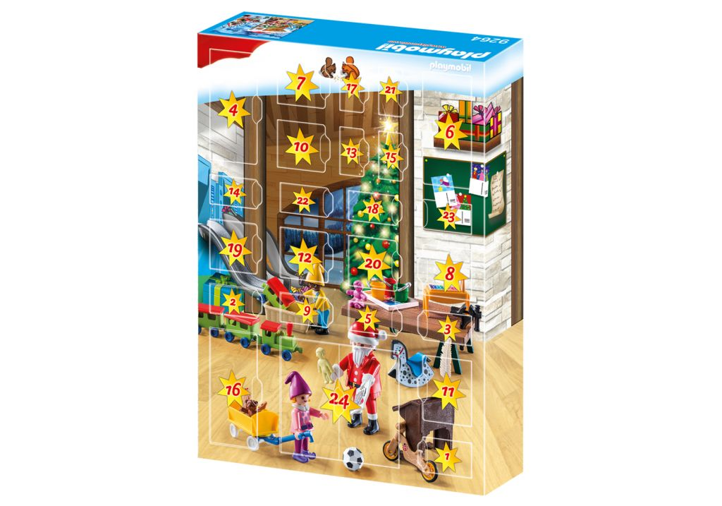 Playmobil 9264 - Advent Calendar Elves Workshop - Back