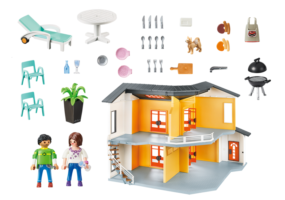 Playmobil Set 9266 Modern House Klickypedia