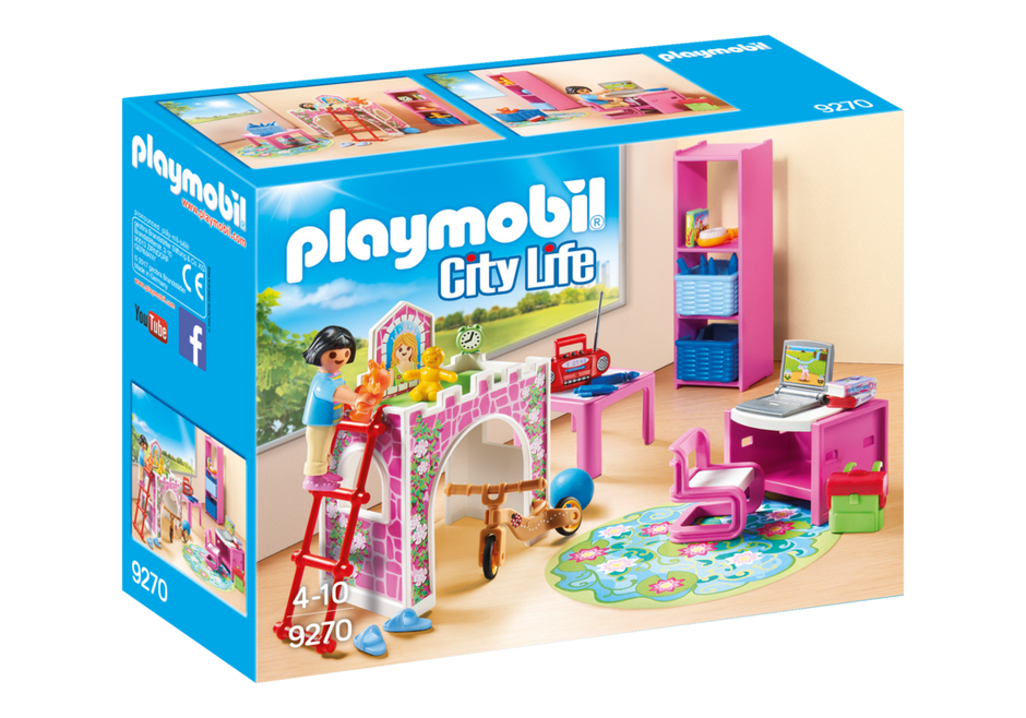 Playmobil Set 9270 Room For Child Klickypedia