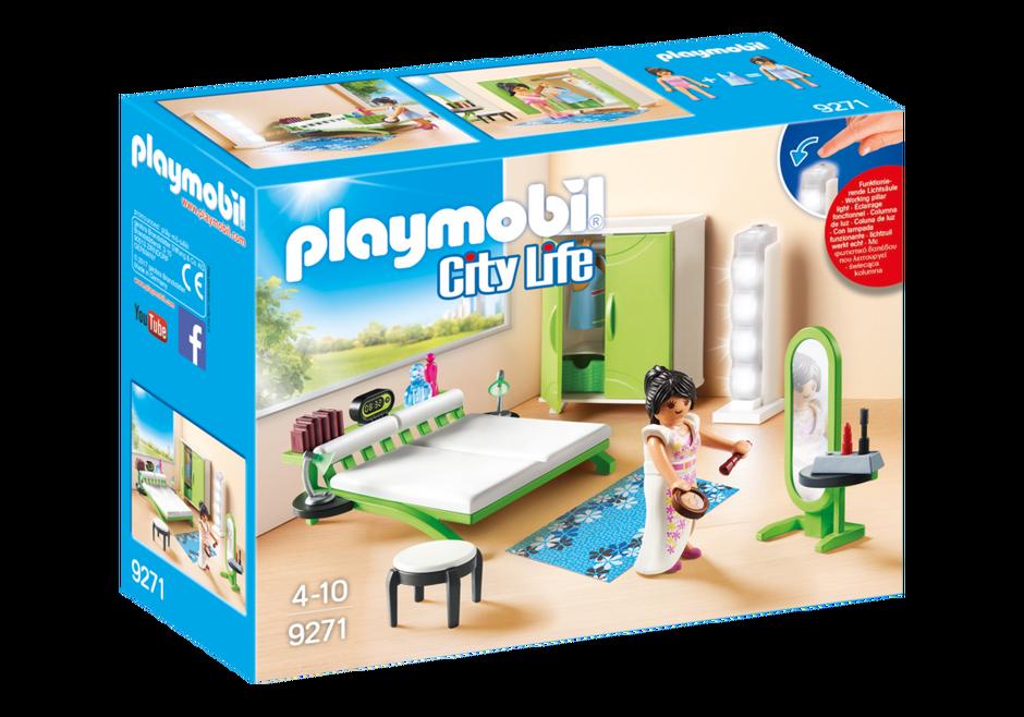 Playmobil set 9271 bedroom klickypedia - Toutes les maisons playmobil ...