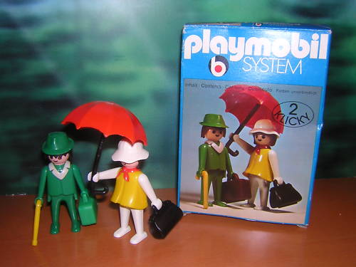 Playmobil 3165 - Travellers - Box