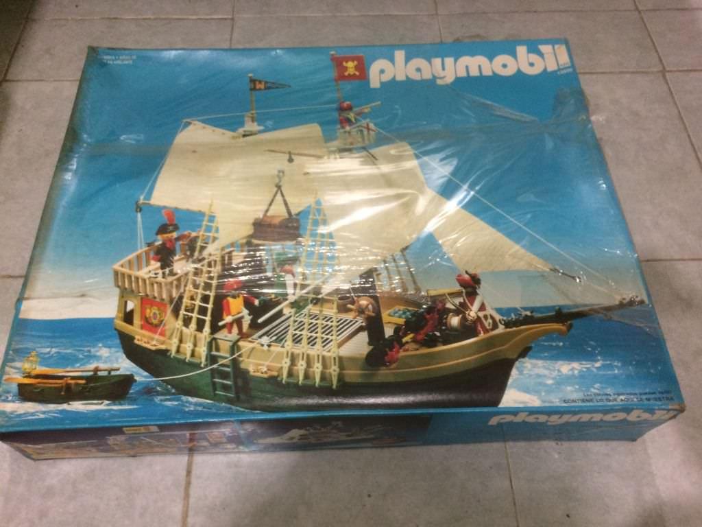Playmobil 3550v1 - Pirate Ship - Box