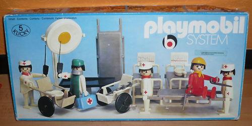 Playmobil 3227 - Hospital Staff - Box