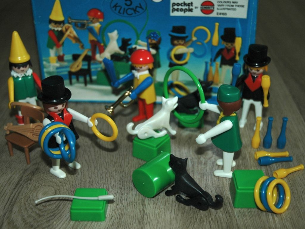 Playmobil 3513-ken - Circus world - Back