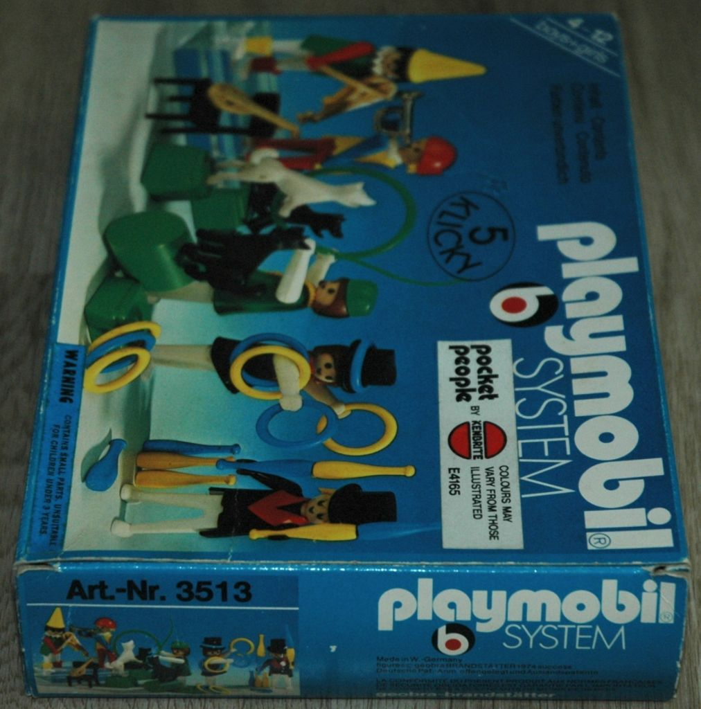 Playmobil 3513-ken - Circus world - Box