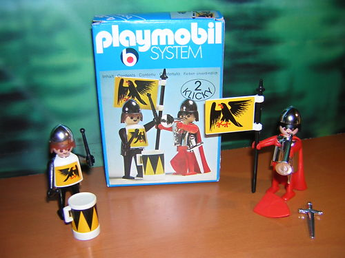 Playmobil 3172s1 - 2 Knights - Back