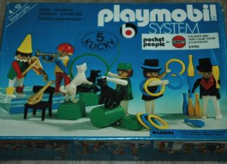 Playmobil - 3513-ken - Circus world