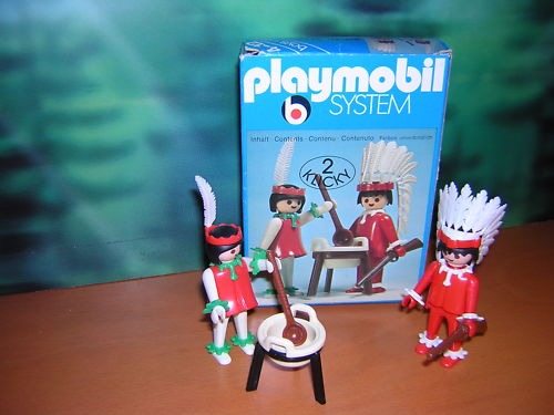 Playmobil 3179s1 - Indians - Back