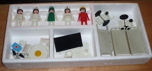 Playmobil 3227 - Hospital Staff - Back