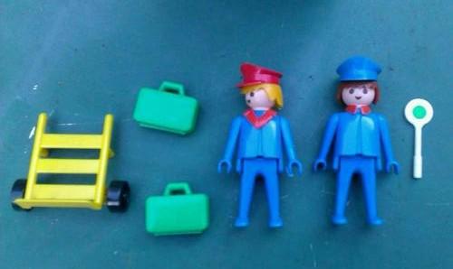 Playmobil 3166 - Porter - Back