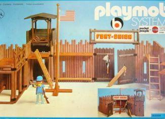 Playmobil - 3420-ken - Fort union