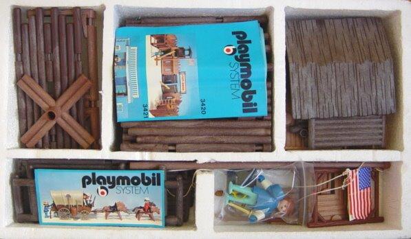 Playmobil 3420-ken - Fort union - Box