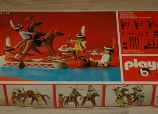 Playmobil - 3250v1 - Indians with Canoe
