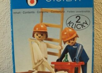 Playmobil - 3160 - 2 Construction Workers
