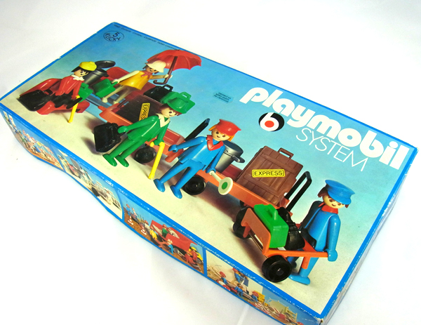 Playmobil 3229 - Travellers - Box