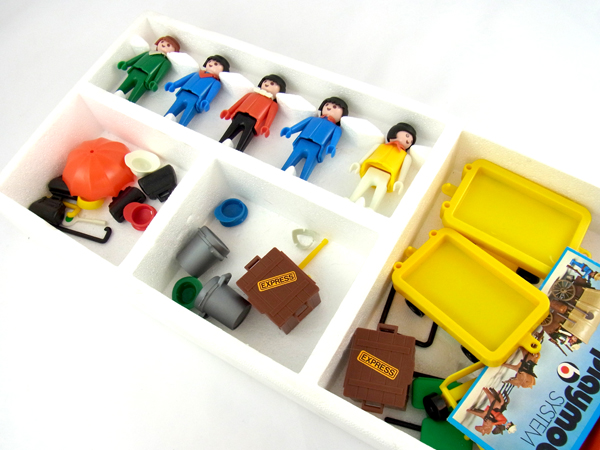 Playmobil 3229 - Travellers - Back