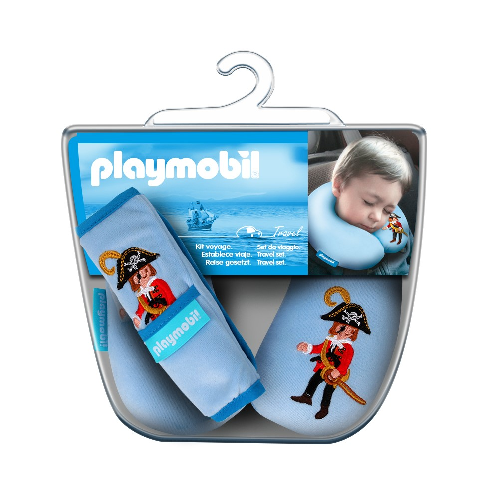 Playmobil 00000 - Children's travel pillow and belt protector - Box