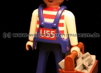 Playmobil - 0000-ger - Maitenance Employee (U55, 2004)- Toolbox