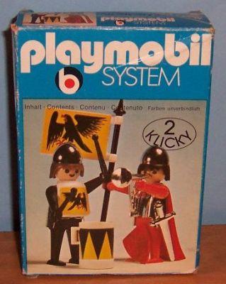 Playmobil 3172s1 - 2 Knights - Box