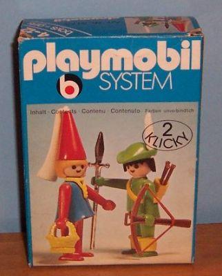 Playmobil 3173 - Robin Hood and Maid Marian - Box