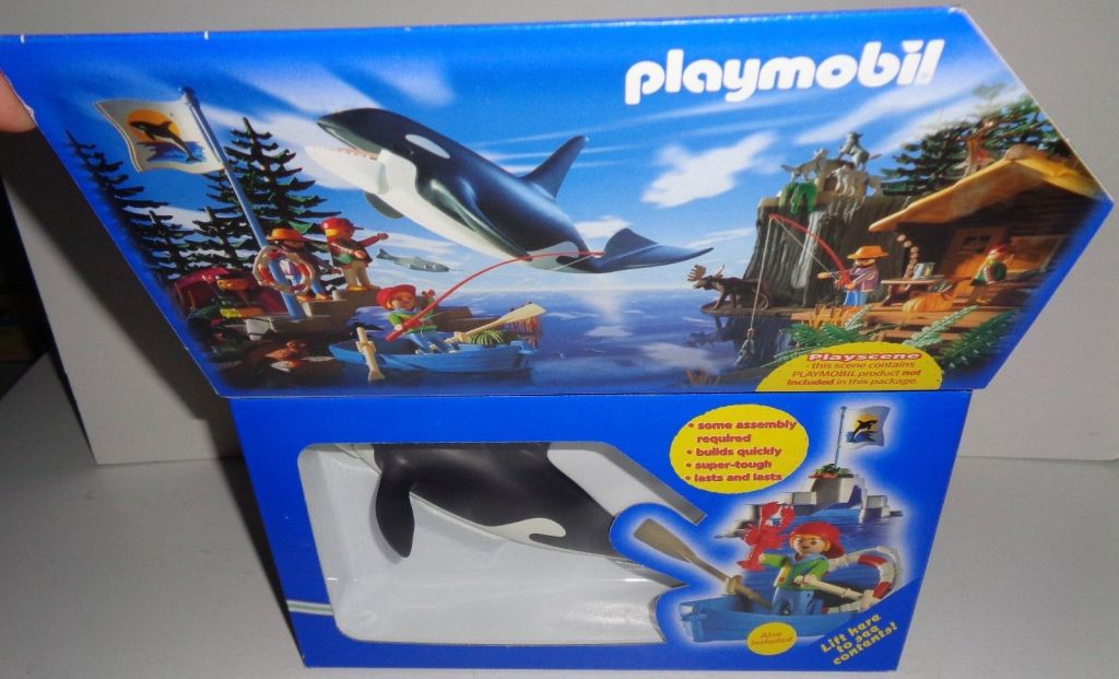 Playmobil 3916-usa - Orca Training Set - Box