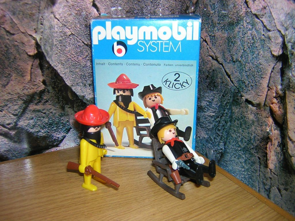 Playmobil 3177 - Sheriff + Mexican bandit - Box