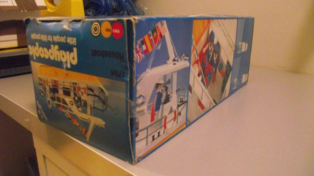 Playmobil 1798-pla - Houseboat - Back
