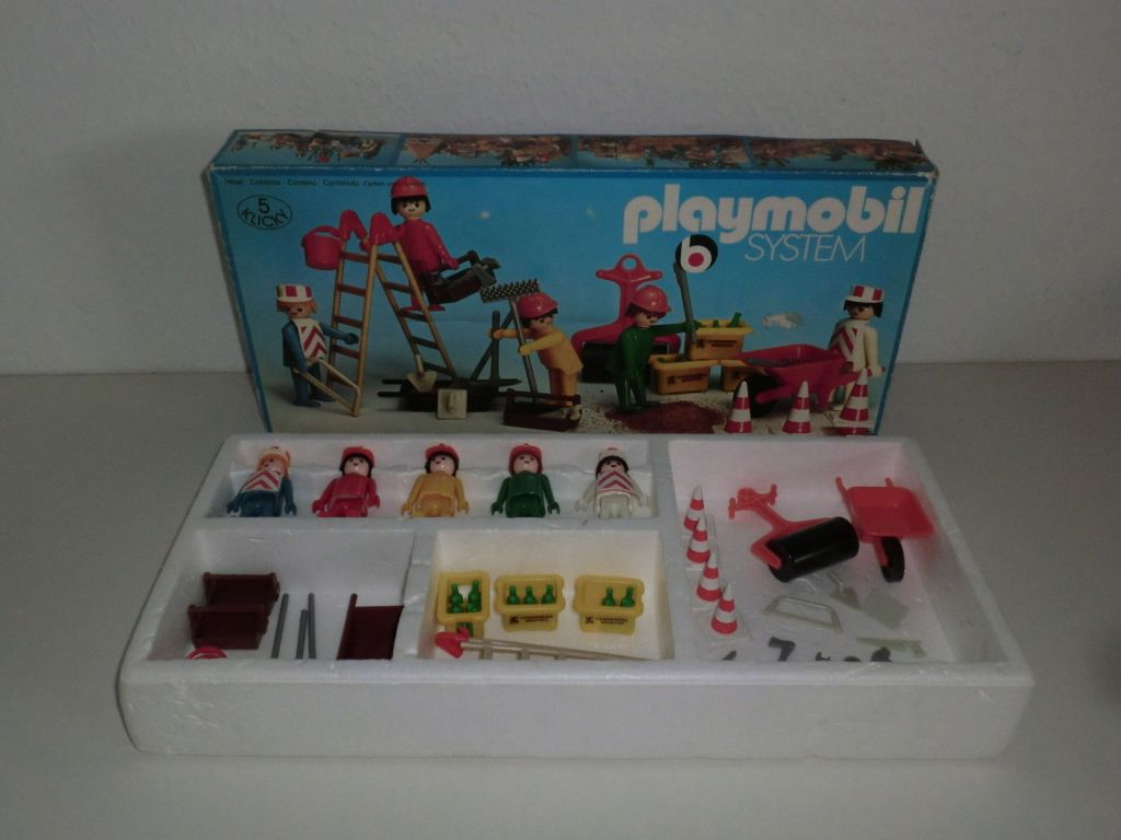 Playmobil 3200s1v2 - Construction Box - Box