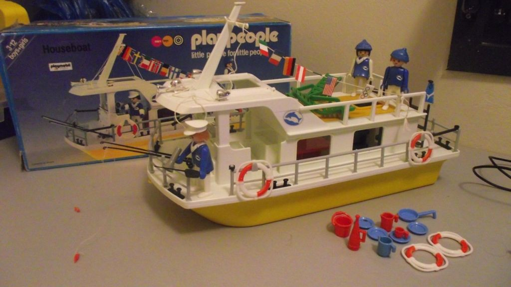 Playmobil 1798-pla - Houseboat - Box