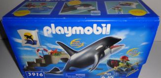 Playmobil - 3916-usa - Orca Training Set
