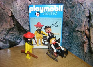Playmobil - 3177 - Sheriff + Mexican bandit