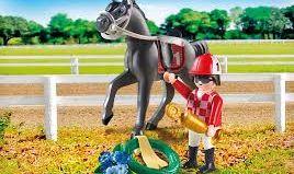 Playmobil - 9261 - Jockey