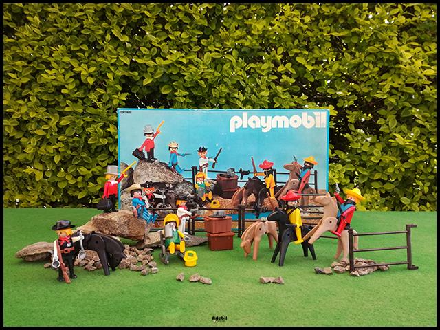 Playmobil 3407-esp - 7 klicky bandit set - Back