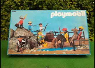 Playmobil - 3407-esp - 7 klicky bandit set