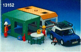 Playmobil - 13152-aur - Camper