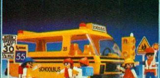 Playmobil - 13170-aur - Schoolbus