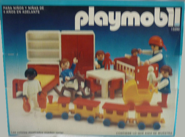 Playmobil 13290-aur - Children's playroom - Box