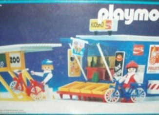 Playmobil - 13418-aur - Kiosk and Bicycle Rack