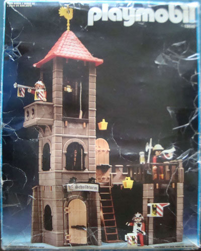 Playmobil 13445-aur - castle tower and wall - Box