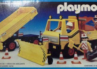 Playmobil - 13454-aur - Snow Clearance Vehicle