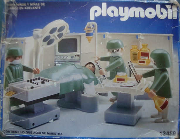 Playmobil 13459-aur - Operating Room - Box