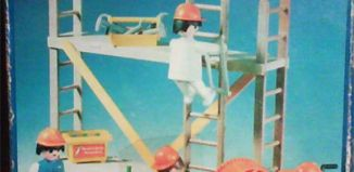 Playmobil - 13492-xat - construction workers with scaffold
