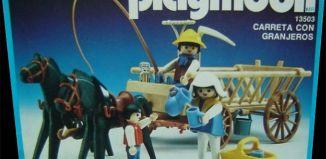 Playmobil - 13503-aur - Cart with farmers