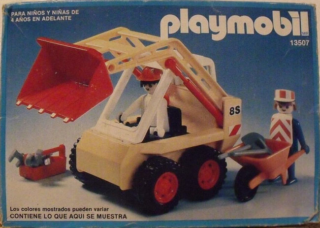 Playmobil 13507-aur - Excavator - Box