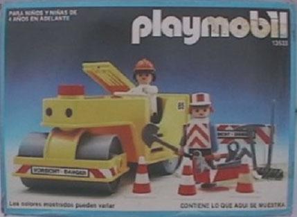 Playmobil 13533-aur - Straßenwalze - Box