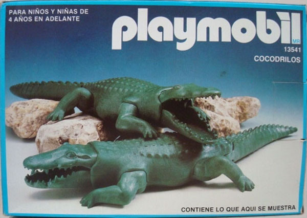 Playmobil 13541-aur - 2 Alligators - Boîte