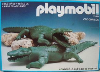Playmobil - 13541-aur - 2 Alligators