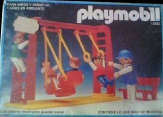 Playmobil - 13552-aur - Children With Swing