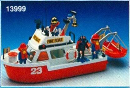 Playmobil 13999-aur - Fire Boat - Box