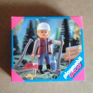 Playmobil 4515 - Lumberjack - Box